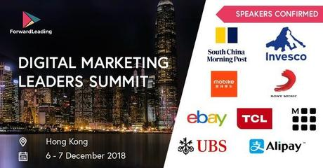 Attend Digital Marketing Leaders Summit in Hong Kong & Lead Your Way