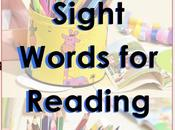 Spanish Sight Words Lists Reading Support