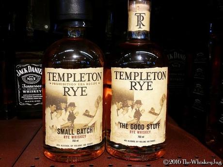 Templeton Rye Not Prohibition