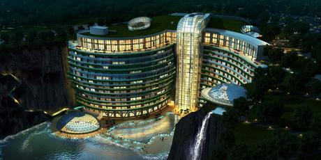China Opens World's First Underground Luxury Hotel [Pics]