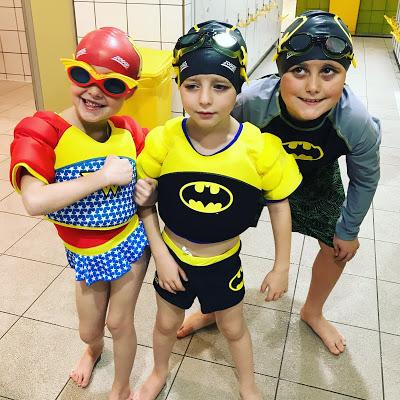 Zoggs DC Super Heroes Make a Splash at Coral Reef Waterworld