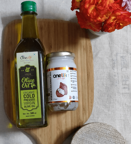 Review: Cold pressed olive and coconut oil from the house of One Life India