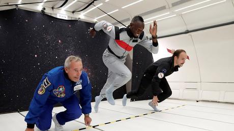 Usain Bolt can defy gravity too !