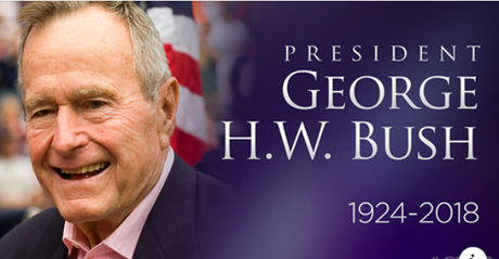 George H.W. Bush - The 41st President - Has Died