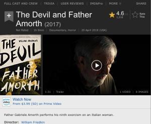 Beneath the Exorcist