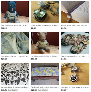 Christmas items from made4aid!