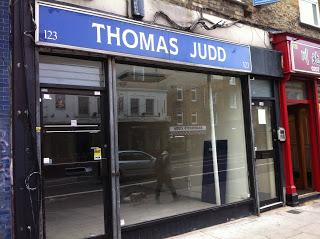 Thomas Judd, Monumental Mason, 123 Holloway Road
