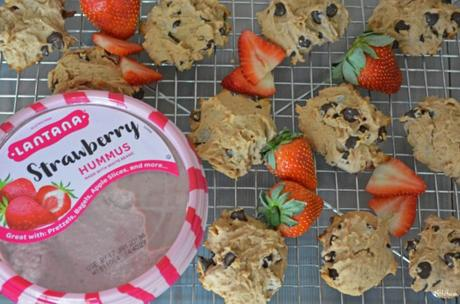 Healthy Strawberry Chocolate Chip Cookies (gluten free)