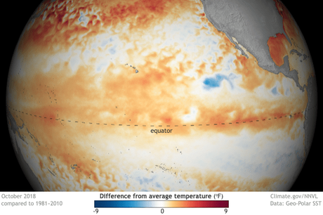 Hard Hitting Weather Phenomenon 'El Niño' Predicted in 2019