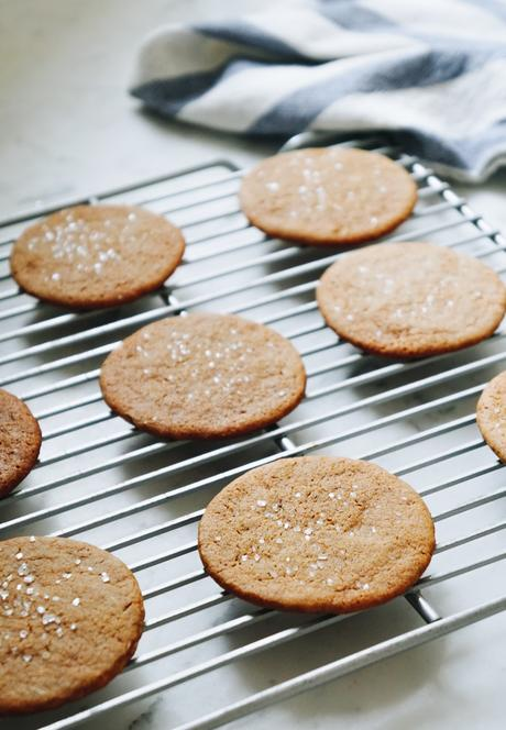 Scandinavian Gatherings' Sugared Gingersnaps