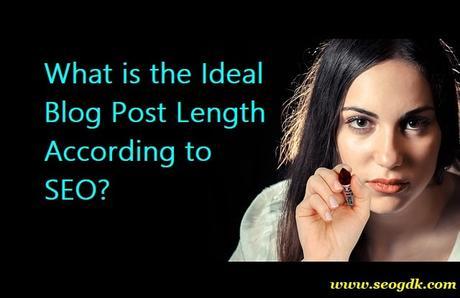 Ideal Blog Post Length