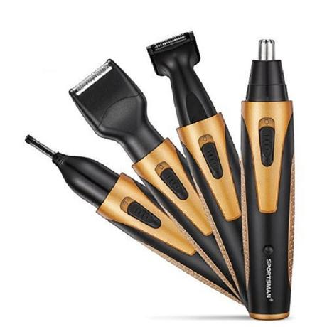 Sportsman USB 4 in 1 Nose & Ear Trimmer