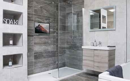 Adding Real Ambiance: Television and Audio in the Bathroom