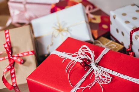 Image: Christmas gifts pile, on FreeStocks