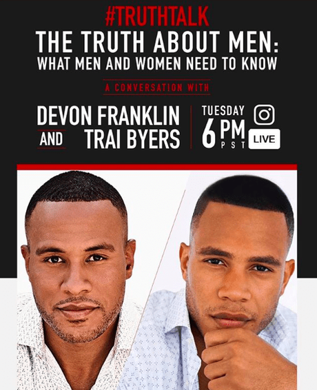 "Join DeVon Franklin On Instagram Live For ""Truth Talk"""