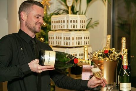 Moet & Chandon Christmas Magic Arrives in Glasgow
