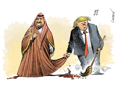 Trump Continues To Cover For Murderous Saudi Prince