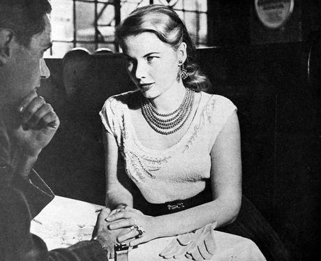 1950s-Fashion---The-Sweater-Winter-Dress-1954