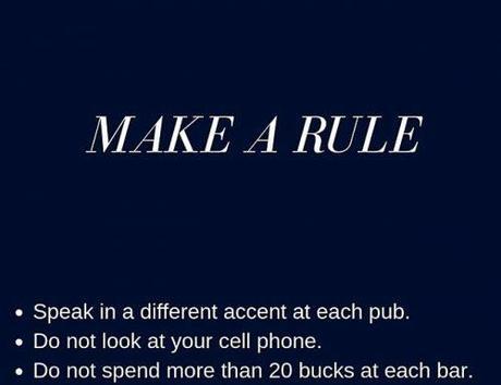 bachelor party games make a rule