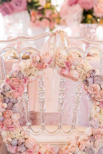wedding colors 2019 dusty pink chair on reception decorate with roses flowers wreath eddiezaratsian1