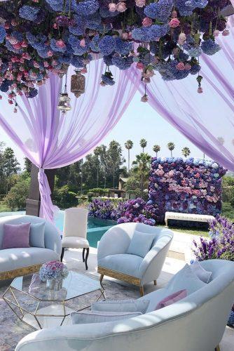 wedding colors 2019 crocus lavender violet flowers bridal arrangements celiosdesign