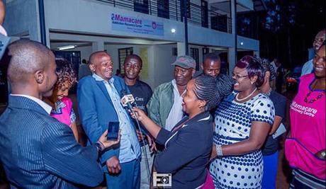 Martin Kamotho alias Githeri Manspeaks to the press upon 'graduating'