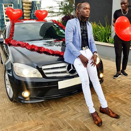 Willy Paul surprises his sweetheart with a new Mercedes Benz