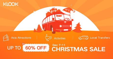 Klook's Christmas Bonus Sale Will Make Your Best Christmas Till Date!