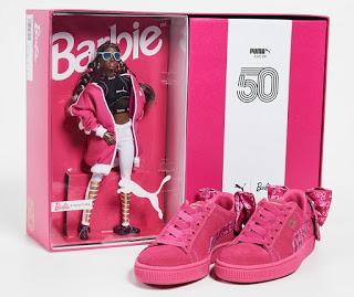 Shoe of the Day | PUMA x Barbie Suede Classic Sneakers
