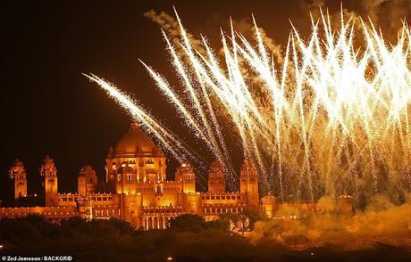 UNICEF ambassador who advised 'crackerless Diwali' ~ pollutes with fireworks display !!