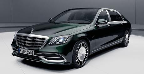 Maybach on road ... some history of Mercedes  !!