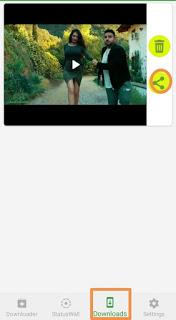 save whatsapp status of others in gallery
