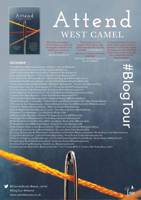 Blog Tour – Attend by West Camel