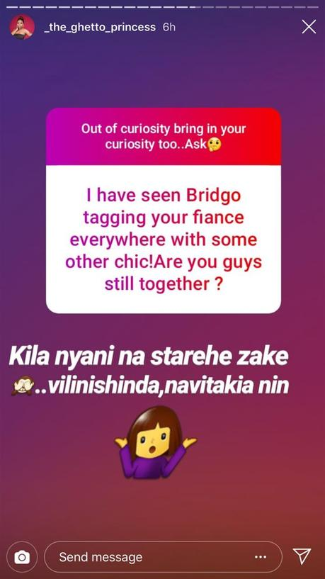 She's nothing but a cheap one! Pendo confirms her Mzungu fiance dumped just weeks after proposing