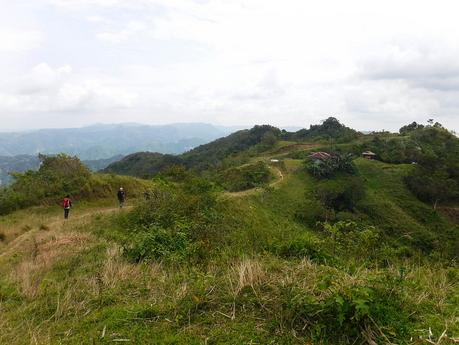 Remote highlands of Northern Cebu
