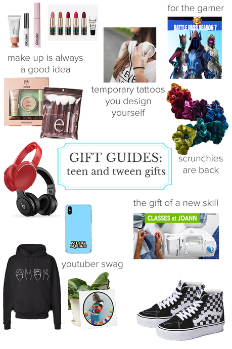 Gift Guide for Teens and Tweens by a Teen