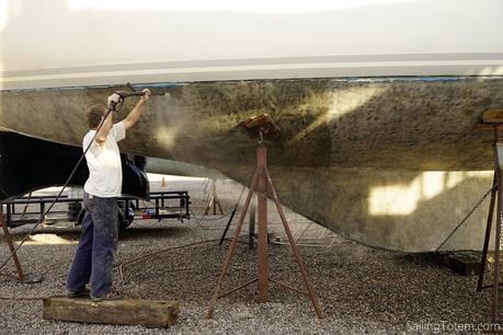 Preparing Totem for Coppercoat