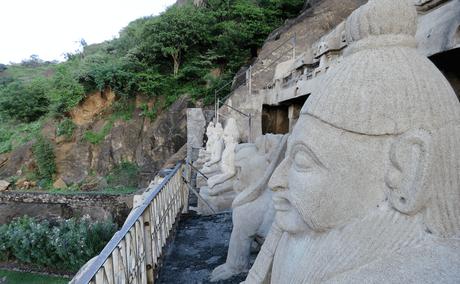 Photoessay: Undavalli caves, Vijayawada: splendid rock cut architecture