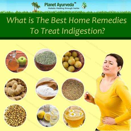 What is The Best Home Remedies to Treat Indigestion?