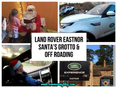 Christmas Day out: Land Rover Experience Eastnor – Off-road driving and Santa's Grotto