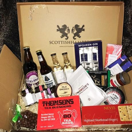 Scottish hampers for a foodie Christmas