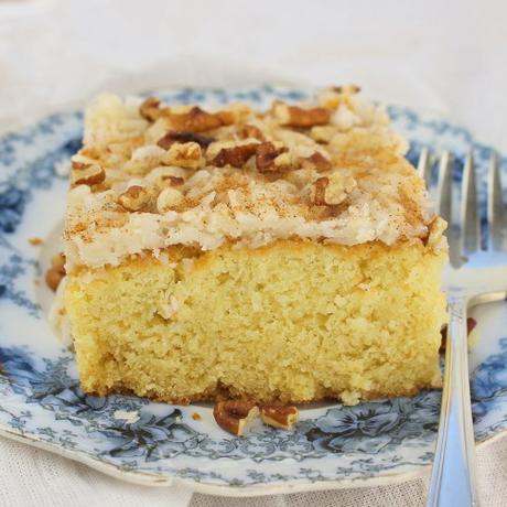 Louisiana Syrup Cake #BakingBloggers