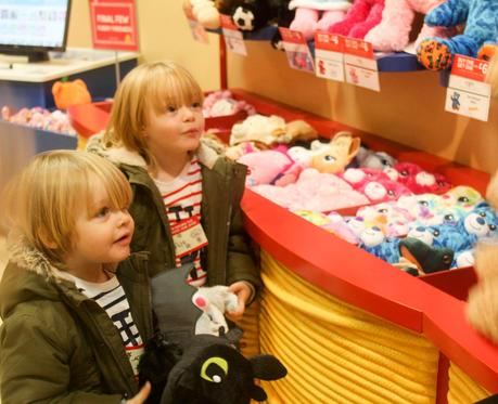 Making New Furry Friends At Build-A-Bear