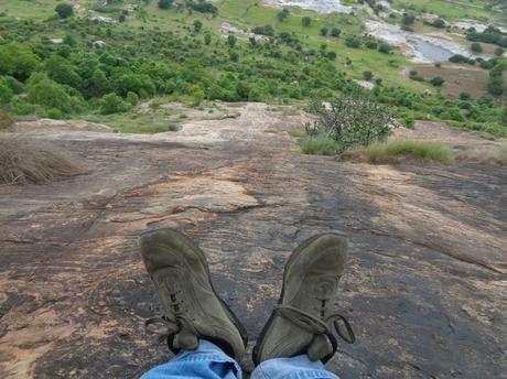159) Kabbaldurga trek – Alexi: (21/6/2018)