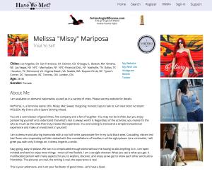 Guest Columnist: Missy Mariposa