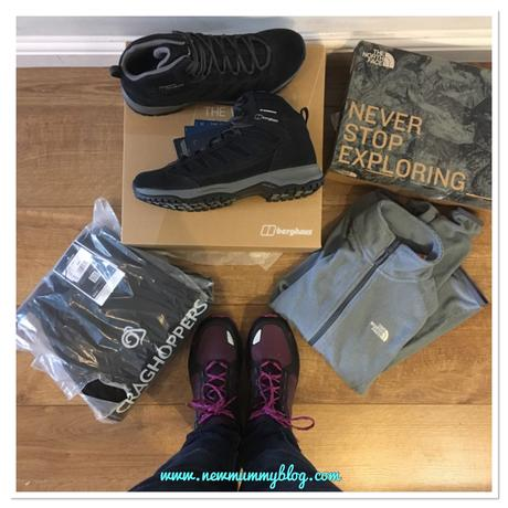 Getting outdoors with Blacks and Millets – women's The North Face walking boots & fleece review
