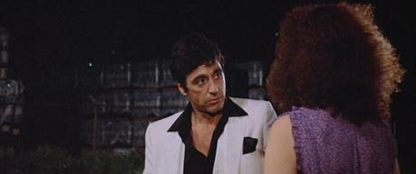 Tony Montana's White Suit in Scarface