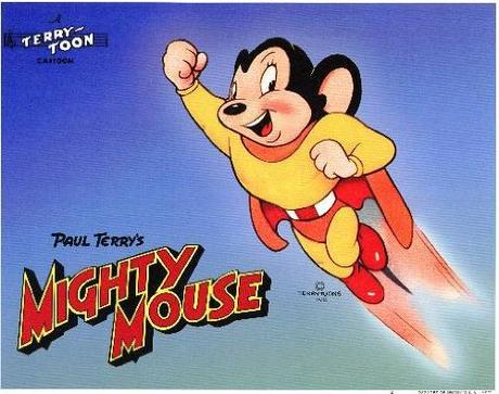 Image: Mighty Mouse POSTER Movie (1943) Style A 11 x 14 Inches - 28cm x 36cm (Alan Oppenheimer)