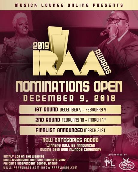 Public Voting Now Open For The 2019 IRAA Awards