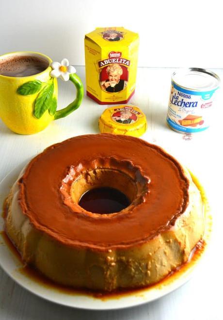 Flan De Cafe (Coffee Caramel Custard)